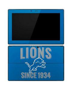 Detroit Lions Helmet Surface RT Skin