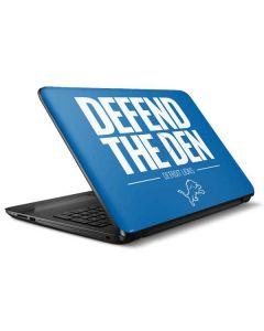 Detroit Lions Team Motto HP Notebook Skin