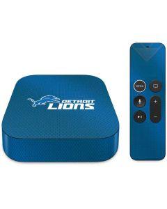 Detroit Lions Team Jersey Apple TV Skin