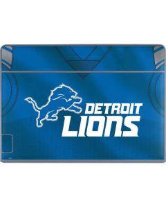 Detroit Lions Team Jersey Galaxy Book Keyboard Folio 12in Skin