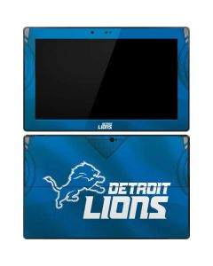Detroit Lions Team Jersey Surface RT Skin