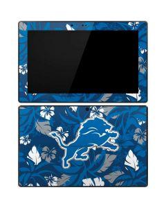 Detroit Lions Tropical Print Surface RT Skin
