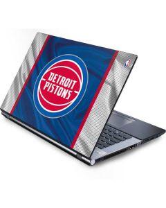 Detroit Pistons Away Jersey Generic Laptop Skin