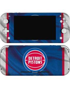 Detroit Pistons Away Jersey Nintendo Switch Lite Skin