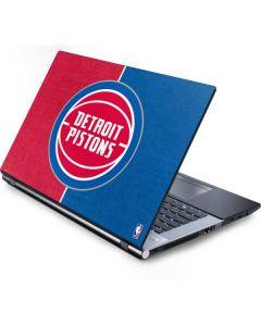 Detroit Pistons Canvas Generic Laptop Skin