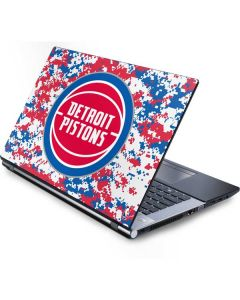 Detroit Pistons Digi Camo Generic Laptop Skin