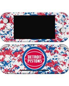 Detroit Pistons Digi Camo Nintendo Switch Lite Skin