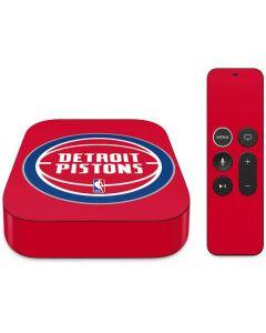 Detroit Pistons Large Logo Apple TV Skin