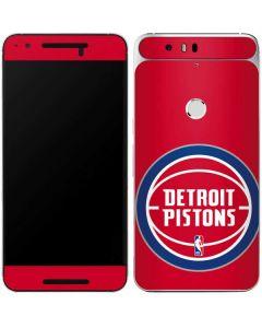 Detroit Pistons Large Logo Google Nexus 6P Skin