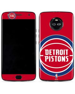 Detroit Pistons Large Logo Moto X4 Skin