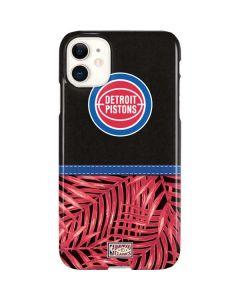 Detroit Pistons Retro Palms iPhone 11 Lite Case