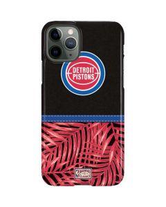 Detroit Pistons Retro Palms iPhone 11 Pro Lite Case