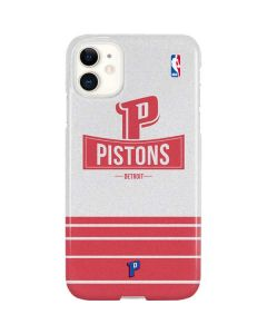 Detroit Pistons Static iPhone 11 Lite Case