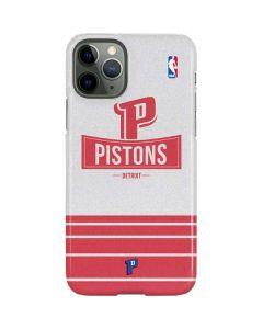 Detroit Pistons Static iPhone 11 Pro Lite Case