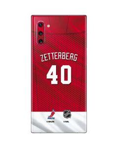 Detroit Red Wings #40 Henrik Zetterberg Galaxy Note 10 Skin
