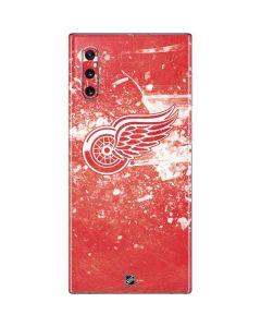 Detroit Red Wings Frozen Galaxy Note 10 Skin