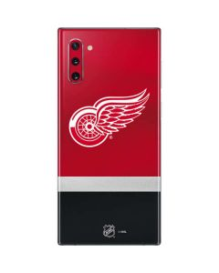 Detroit Red Wings Jersey Galaxy Note 10 Skin