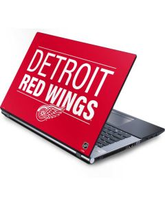 Detroit Red Wings Lineup Generic Laptop Skin