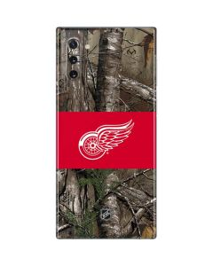 Detroit Red Wings Realtree Xtra Camo Galaxy Note 10 Skin