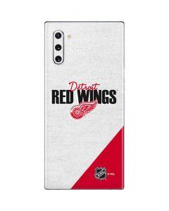 Detroit Red Wings Script Galaxy Note 10 Skin