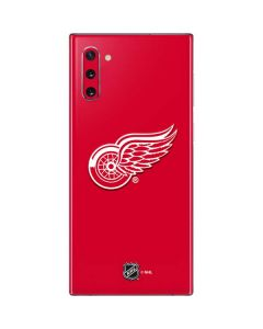 Detroit Red Wings Solid Background Galaxy Note 10 Skin