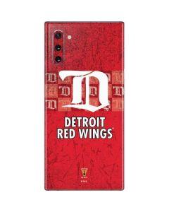 Detroit Red Wings Vintage Galaxy Note 10 Skin