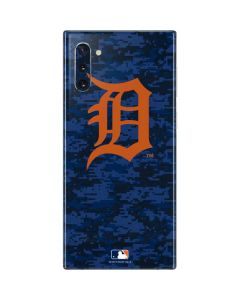 Detroit Tigers Digi Camo Galaxy Note 10 Skin