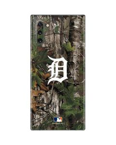 Detroit Tigers Realtree Xtra Green Camo Galaxy Note 10 Skin