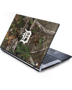 Detroit Tigers Realtree Xtra Green Camo Generic Laptop Skin