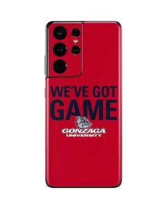Gonzaga University Weve Got Game Galaxy S21 Ultra 5G Skin