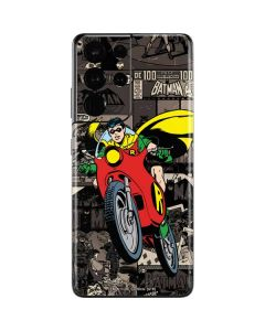 Robin Mixed Media Galaxy S21 Ultra 5G Skin