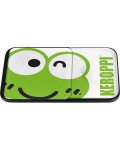 Keroppi Cropped Face Wireless Charger Duo Skin