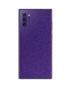 Diamond Purple Glitter Galaxy Note 10 Plus Skin