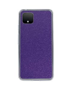 Diamond Purple Glitter Google Pixel 4 XL Clear Case