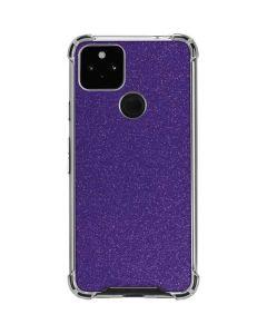 Diamond Purple Glitter Google Pixel 4a 5G Clear Case