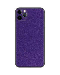 Diamond Purple Glitter iPhone 11 Pro Max Skin