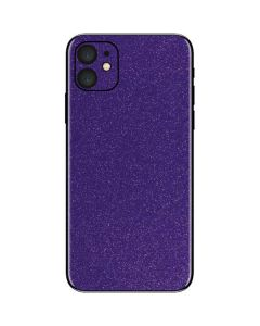 Diamond Purple Glitter iPhone 11 Skin