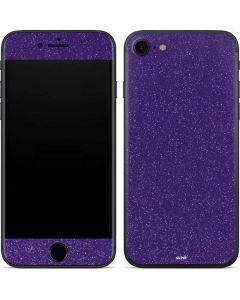 Diamond Purple Glitter iPhone SE Skin