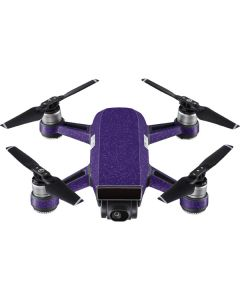 Diamond Purple Glitter DJI Spark Skin