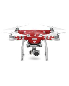 Diamond Red Glitter DJI Phantom 3 Skin