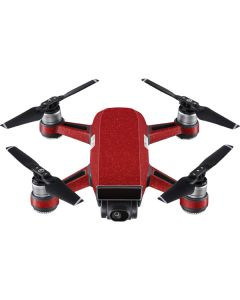 Diamond Red Glitter DJI Spark Skin