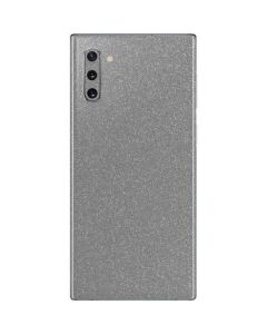 Diamond Silver Glitter Galaxy Note 10 Skin