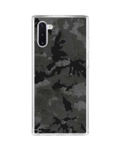 Digital Camo Galaxy Note 10 Clear Case