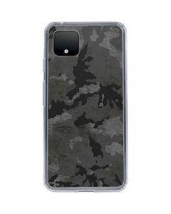 Digital Camo Google Pixel 4 Clear Case