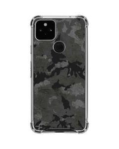 Digital Camo Google Pixel 4a 5G Clear Case