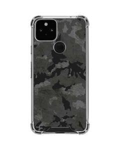 Digital Camo Google Pixel 5 Clear Case