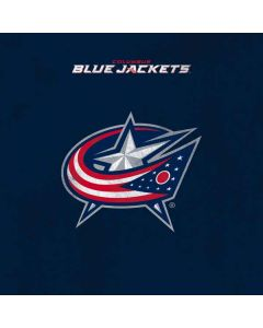 Columbus Blue Jackets Distressed Xbox One Controller Skin