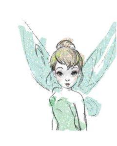 Tinker Bell Watercolor Fairy Pixelbook Pen Skin