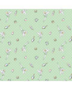 Tinker Bell Trinkets Pattern Apple TV Skin