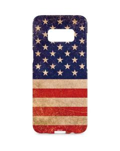 Distressed American Flag Galaxy S8 Plus Lite Case